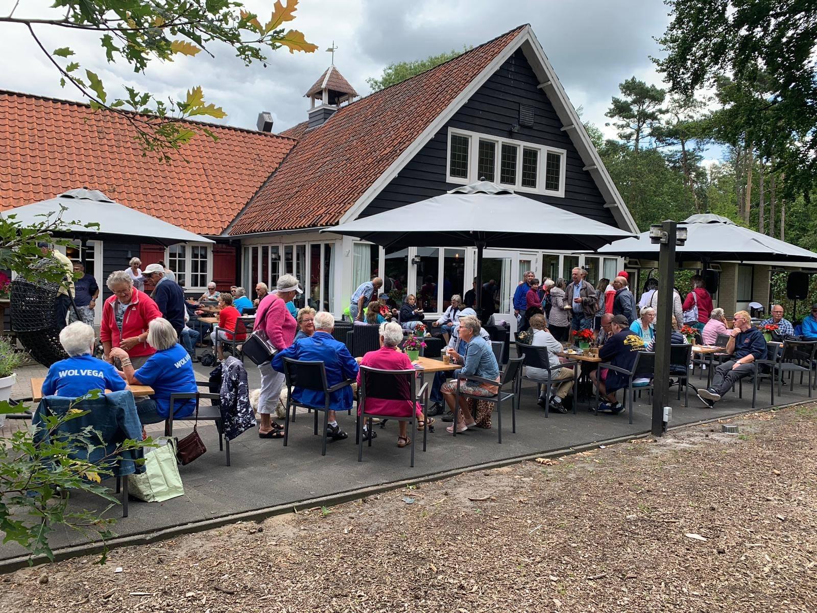 Terras Restaurant Vondel De Bult Steenwijk Op Landgoed Fredeshiem
