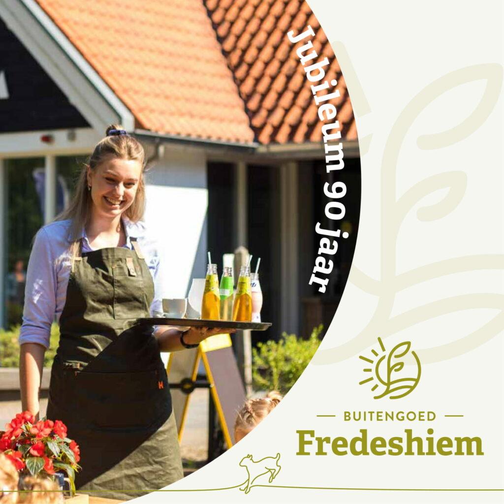 Magazine ter ere van 90 jarig bestaan Buitengoed Fredeshiem Steenwijk de Bult