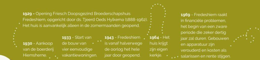 Geschiedenis Fredeshiem Steenwijk de Bult