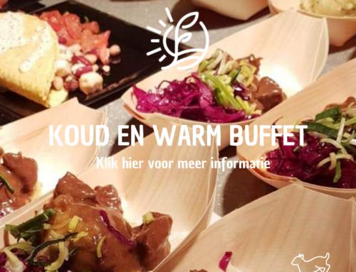 Koud en warm buffet Restaurant Vondel