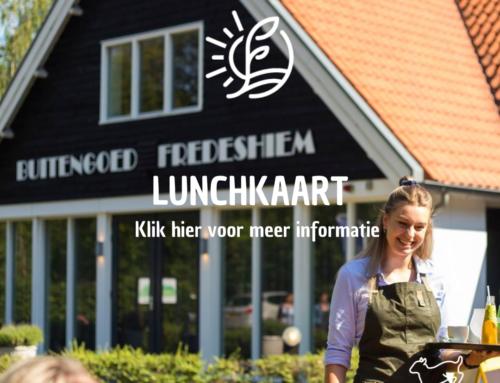 Lunchkaart Restaurant Vondel