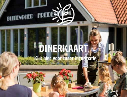 Dinerkaart Restaurant Vondel