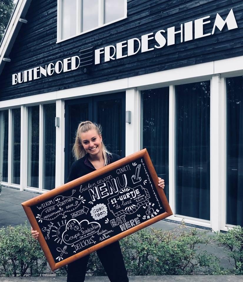Restaurant Vondel Steenwijk De Bult Op Landgoed Fredeshiem