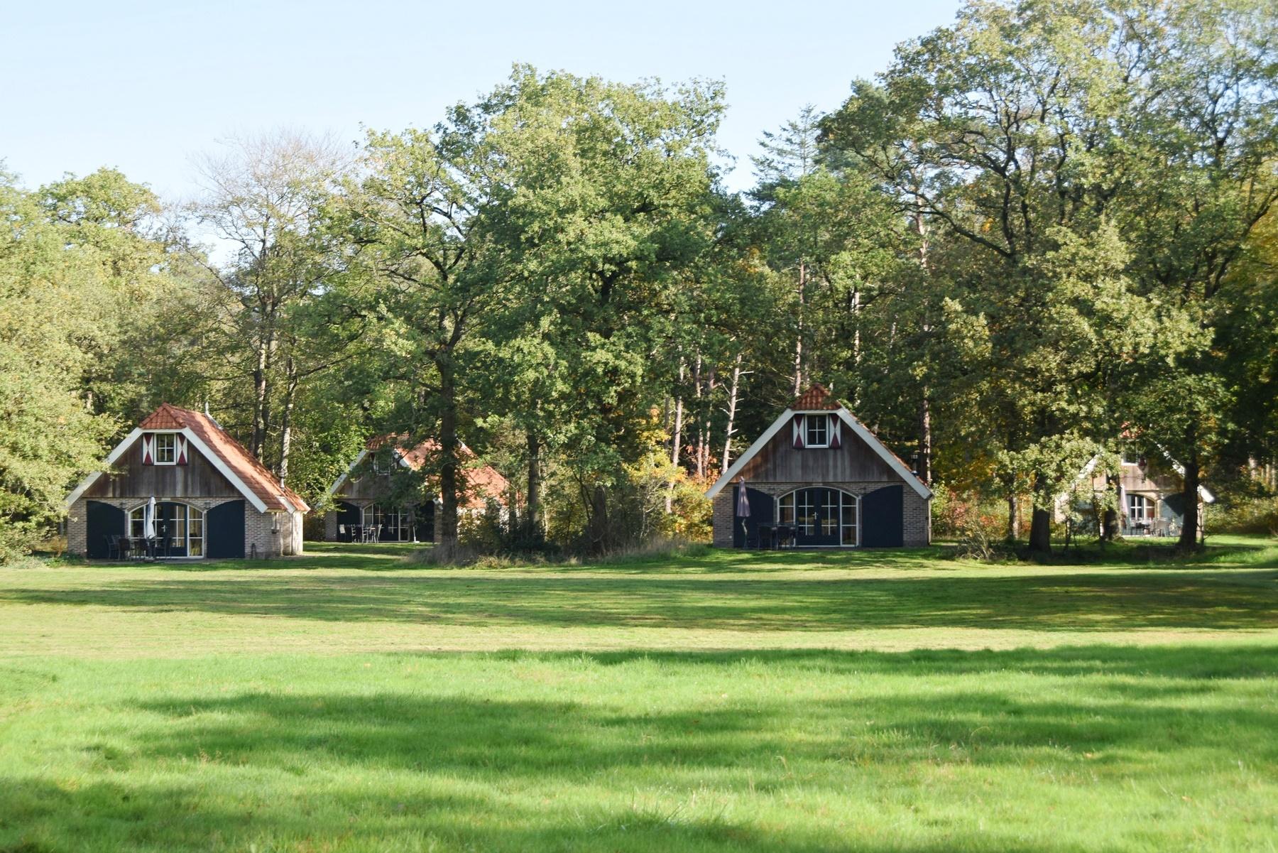 Vakantiehuisje in de natuur Overijssel Steenwijk op Buitengoed Fredeshiem (6 personen)