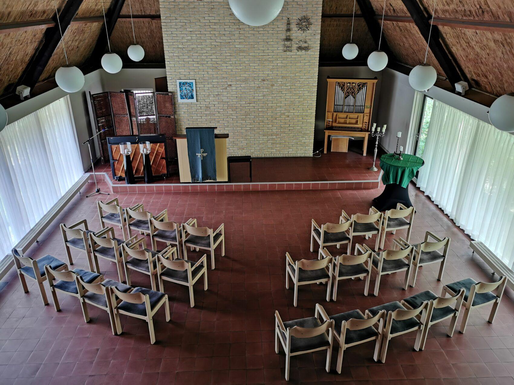 Menno Kapel Kerkopstelling Buitengoed Fredeshiem Steenwijk de Bult