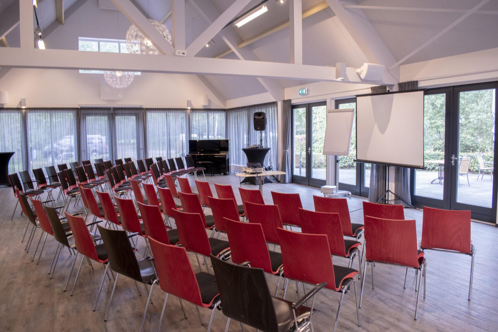 Winkler Prins zaal - Vergaderen op Buitengoed Fredeshiem Steenwijk de Bult