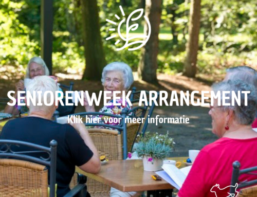 Seniorenweek arrangement
